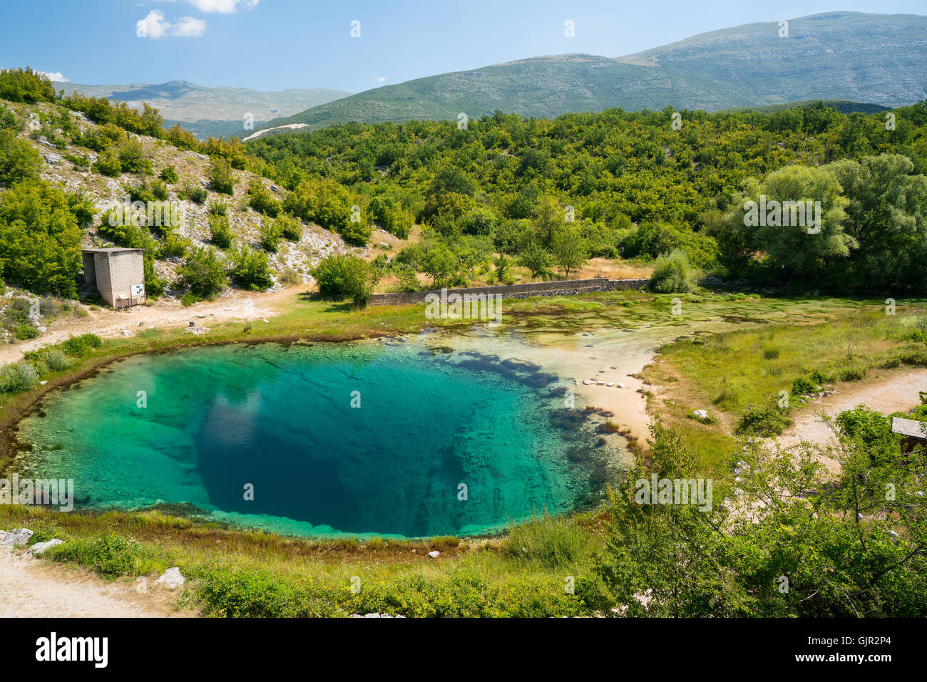 Cetina Water Source Spring In Croatia Stock Photo Royalty Free Image