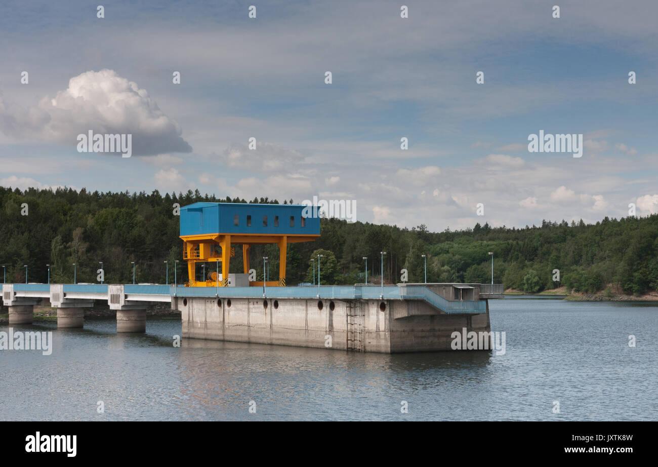 Pumped Storage Hydroelectric Reservoir Stock Photos Amp Pumped Storage Hydroelectric Reservoir