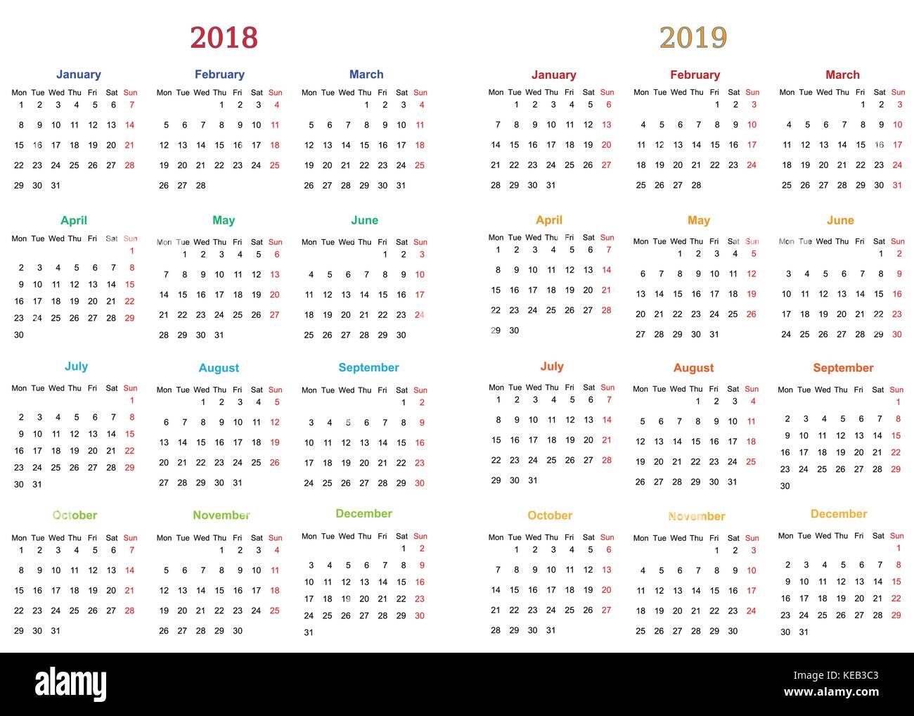 Template 7 Day Printable Calendar