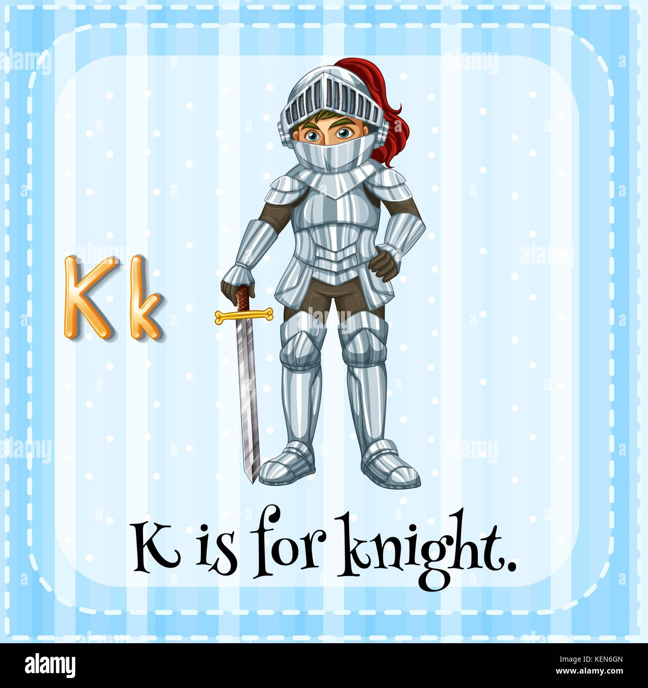 Cartoon Letter K Stock Photos Amp Cartoon Letter K Stock Images
