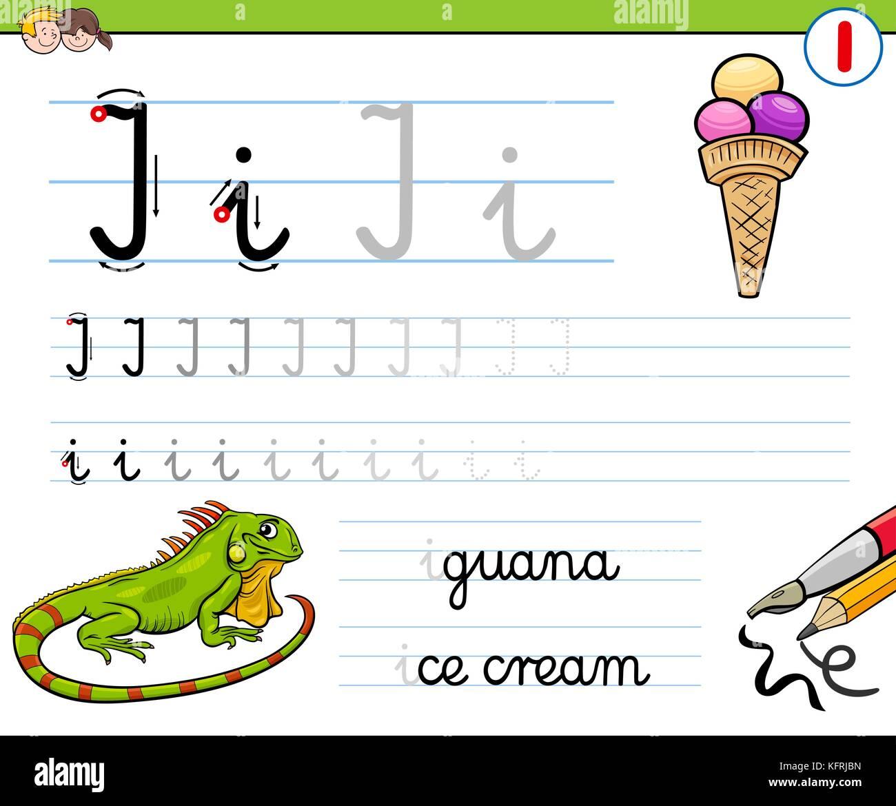 Letter I Iguana Stock Photos Amp Letter I Iguana Stock