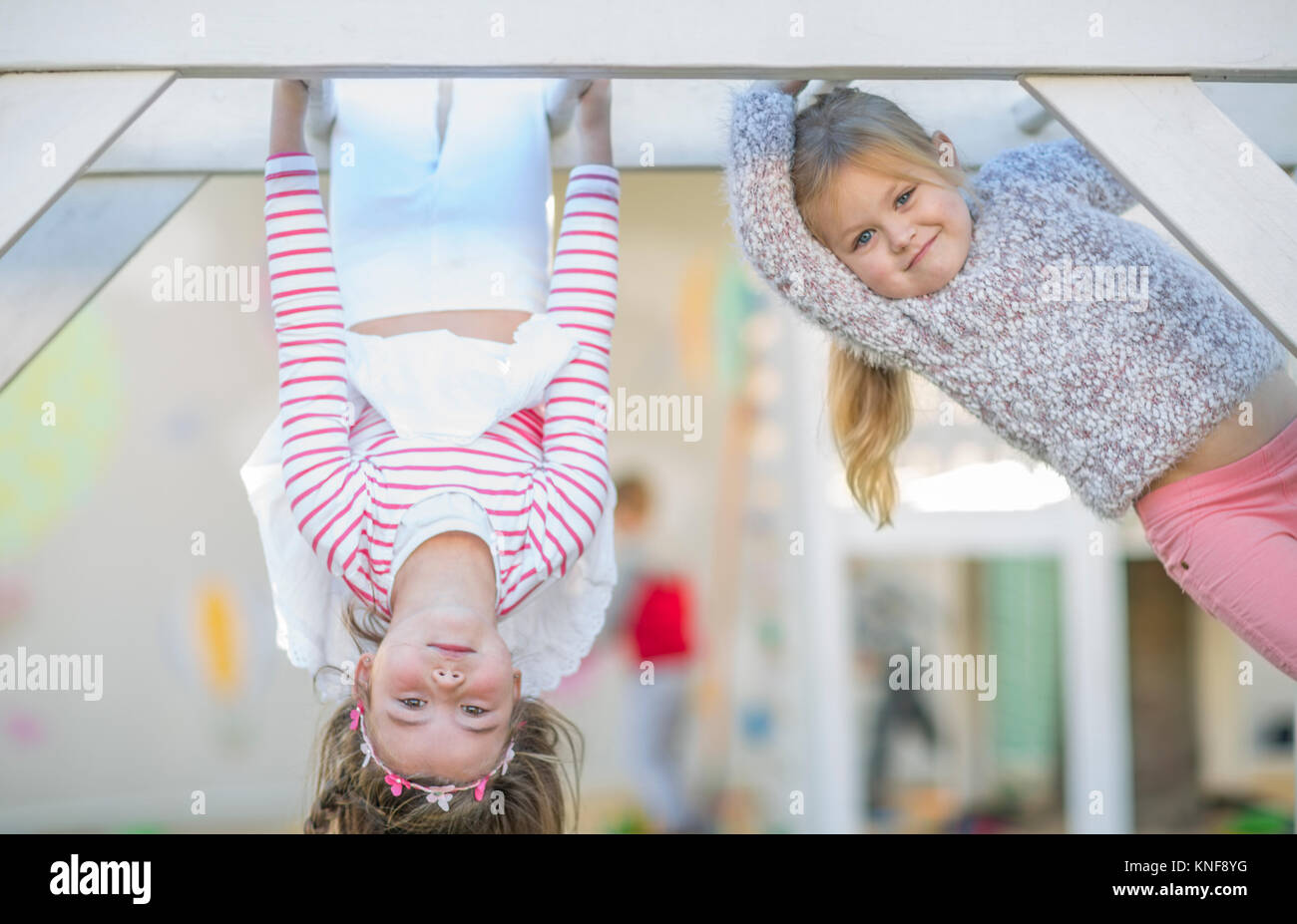 Child Hanging Upside Down In Stock Photos Amp Child Hanging Upside Down In Stock Images