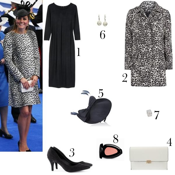 Recriação do look da Kate Middleton