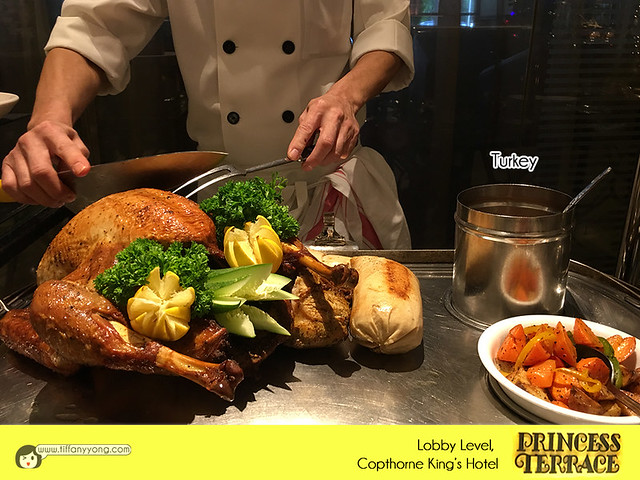 Copthorne Kings Princess Terrace Christmas Penang Buffet Turkey