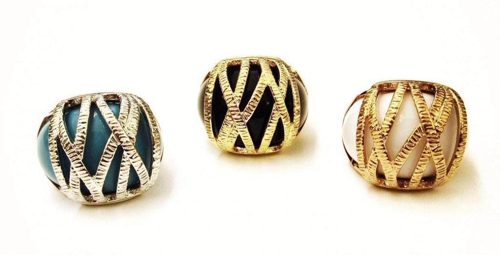 圖說:Melania Trump設計的戒指,我覺得不錯看。