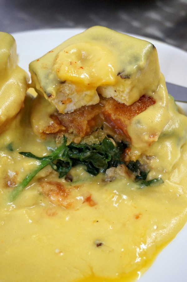Public Kitchen Vegan Benedict | thelittleredspoon.com