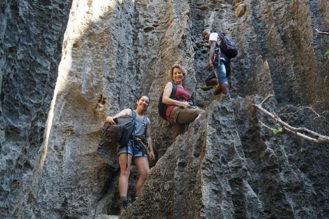 Climbing the Rocks