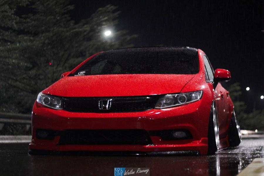 Stance Honda Civic with 326 Power Yabaking-6