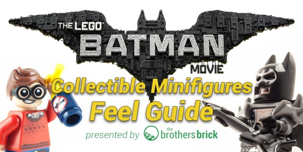 Lego Batman Movie Collectible Minifigures Feel Guide