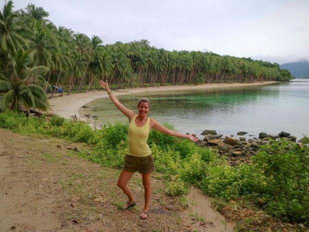 Playa previa a White beach