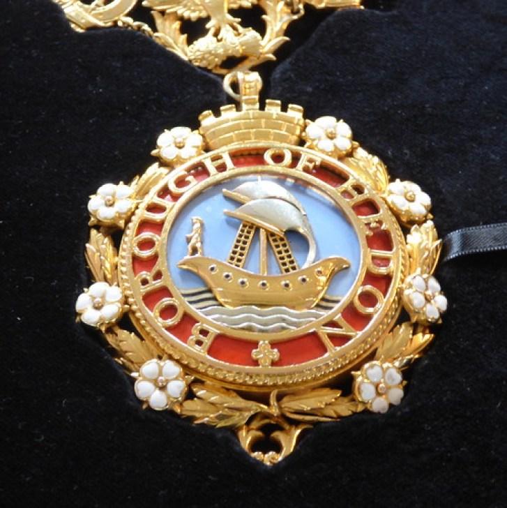Hedon Mayor Medallion