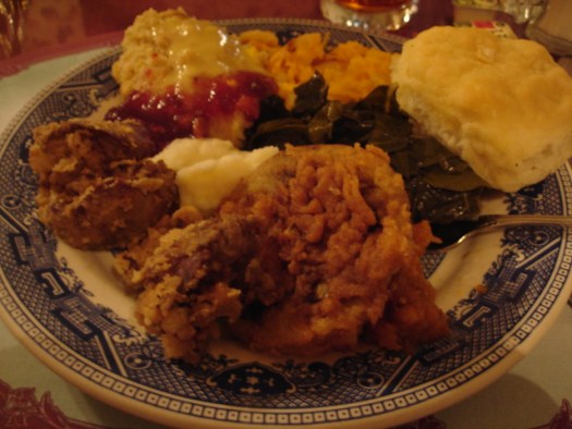 Dinner at the Blue Willow Inn, Social Circle GA