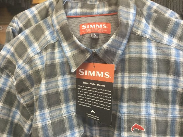 Simms Cold Weather Shirts