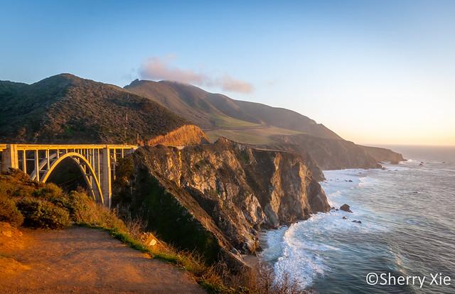 Bixby Creek Bridge California Highway No 1