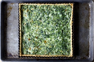 my favorite spinach quiche