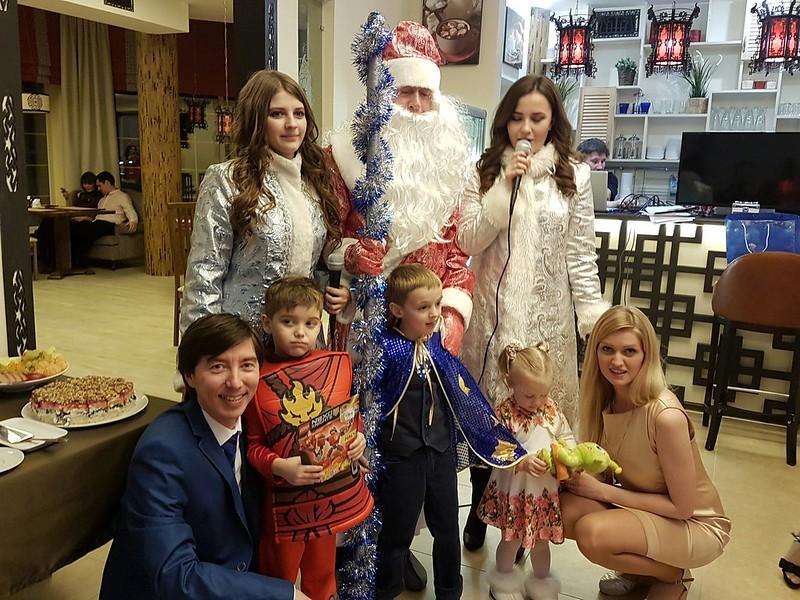 Новогодняя сказка Альфа-Зет 2017 в Рогово