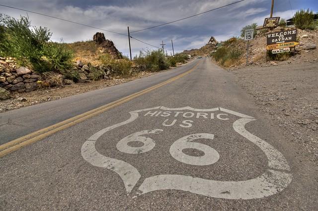 Ruta 66, Route 66.