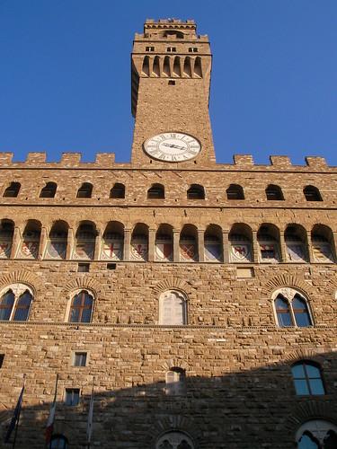 Palazzo Vecchio en la Piazza della Signoria. ViajerosAlBlog.com.