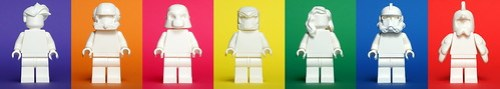 LEGO Andy Warhol style