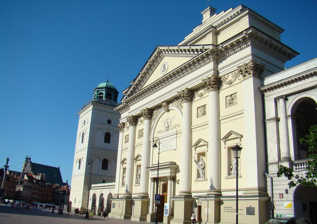Polonia Iglesia de Santa Ana Varsovia 23