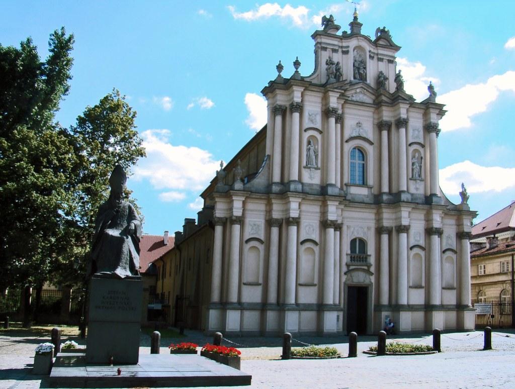 Polonia Iglesia de San Jose de las Visitacionistas Varsovia 18