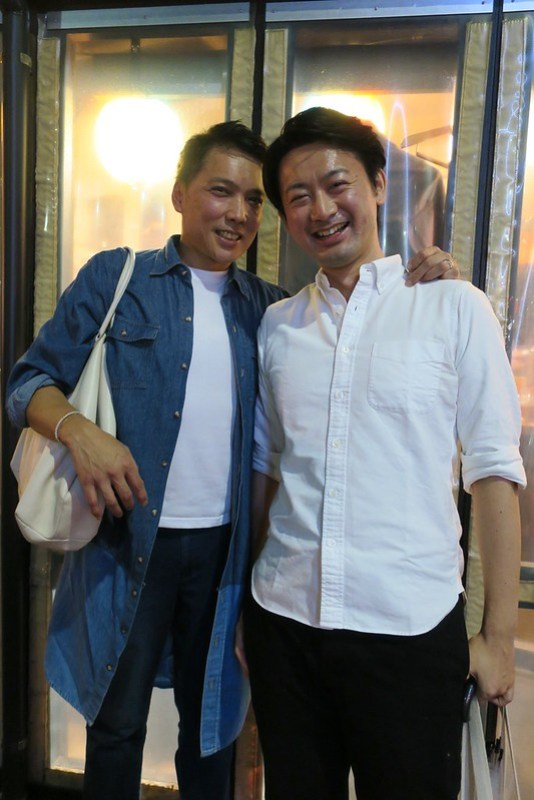 Joey and Taichi