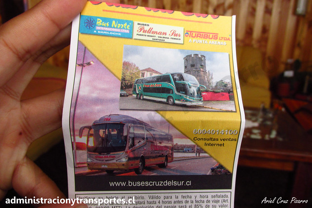 Pasaje Buses Cruz del Sur