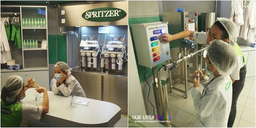 Kidzania Spritzer