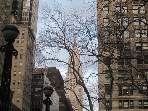 Chrysler desde la calle 40