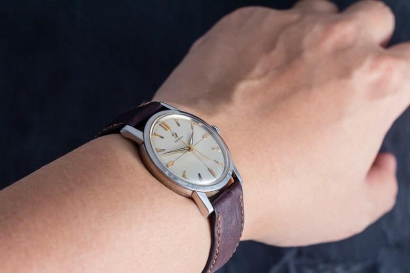 Vintage Omega Seamaster wristshot