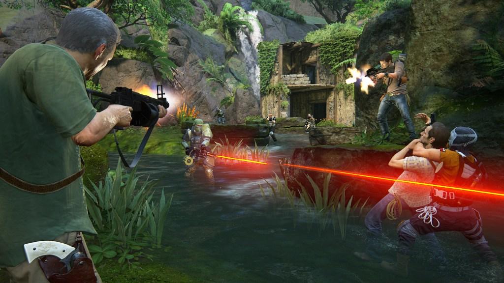 Uncharted 4: Survival co-op