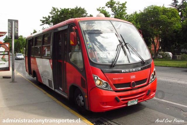 Transantiago C09 | Redbus | Neobus Thunder - Mercedes Benz / CJRS19
