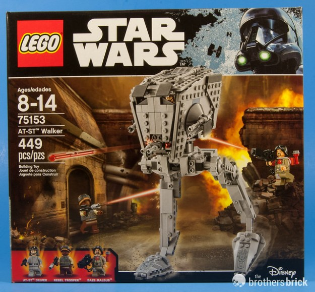 Lego Star Wars 75153 At St Walker From Rogue One Review The