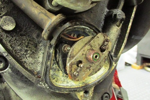 Oil and Corrosion Around Automatic Timing Unit (ATU)