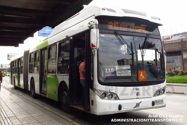 Transantiago - Subus Chile - Caio Mondego LA / Volvo (ZN6334)