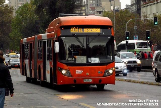 Transantiago - Express de Santiago Uno - Busscar Urbanuss / Volvo (ZN6747)