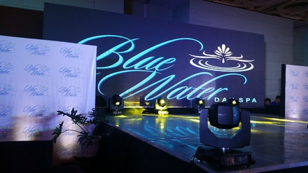 BlueWater Day Spa stage