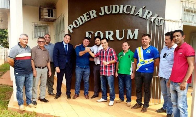 Foto do dia. Justiça ordena a transição em Rurópolis, transição em Rurópolis 2