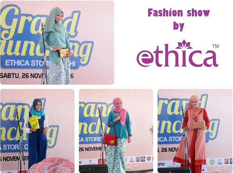 Fashion Show by Ethica di Grand Launching Ethica Store Cimahi | Hola Darla