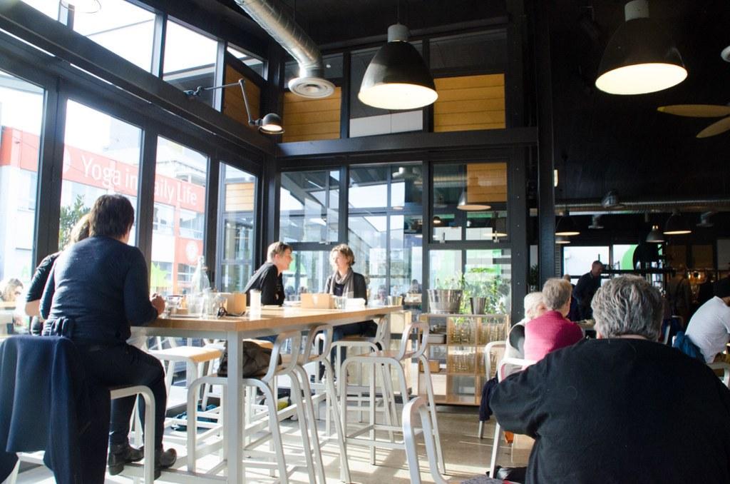Cafe Prefab in Wellington