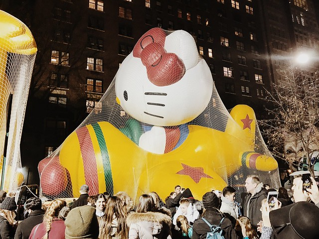 Macy's Thanksgiving Day Parade Balloon Viewing 2016