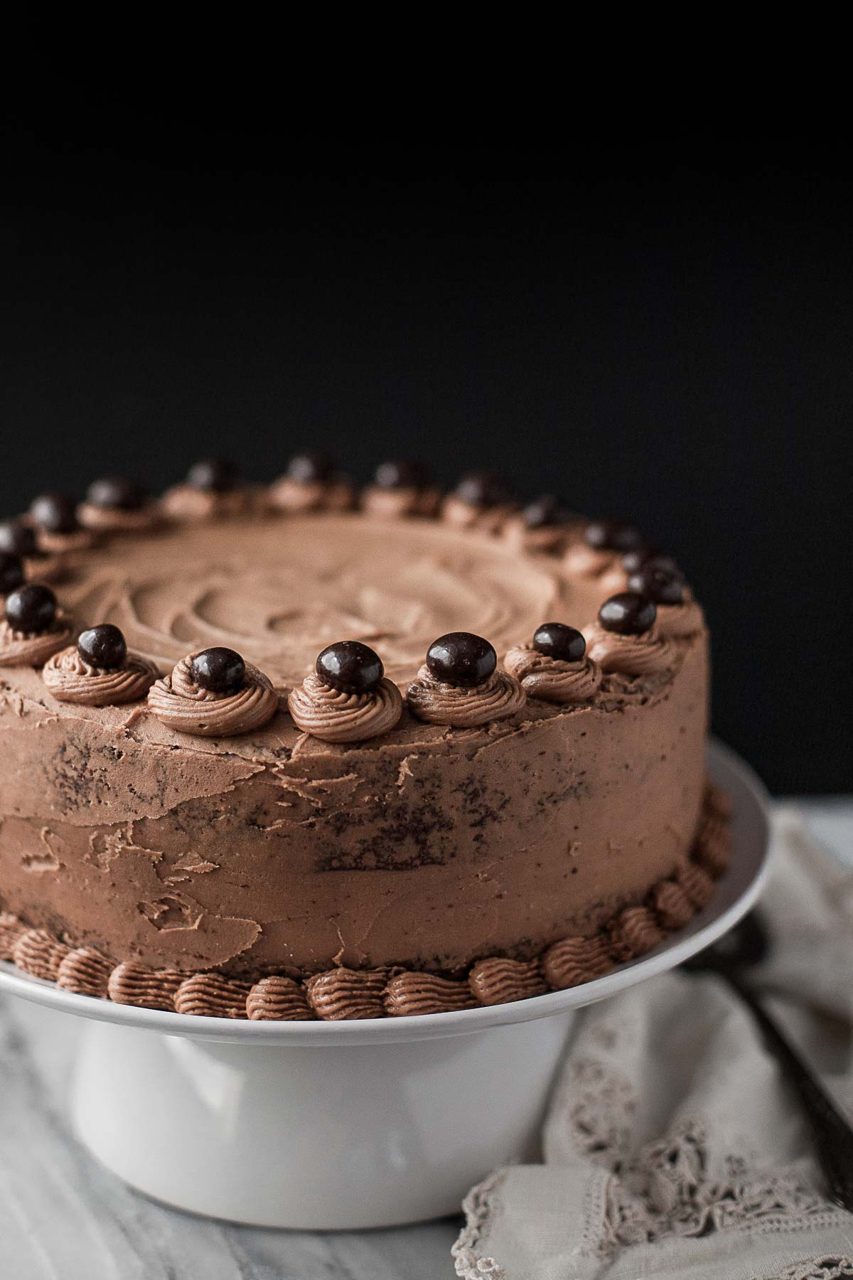 Grain Free Chocolate Cake With Mocha Buttercream A