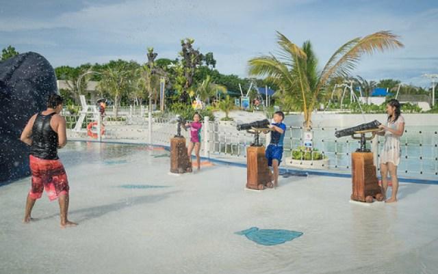 Palawan Waterpark_water cannons