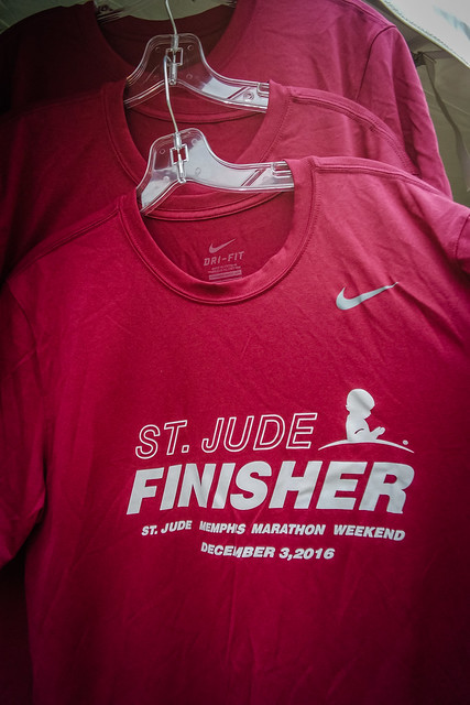 St. Jude Memphis Marathon Weekend 2016 Finisher Shirts