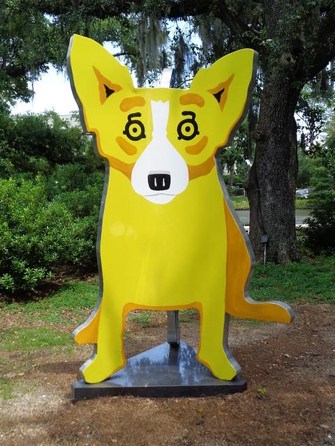 George Rodrigue, We Stand Together 2005, Sydney and Walda Besthoff Sculpture Garden, NOMA, New Orleans