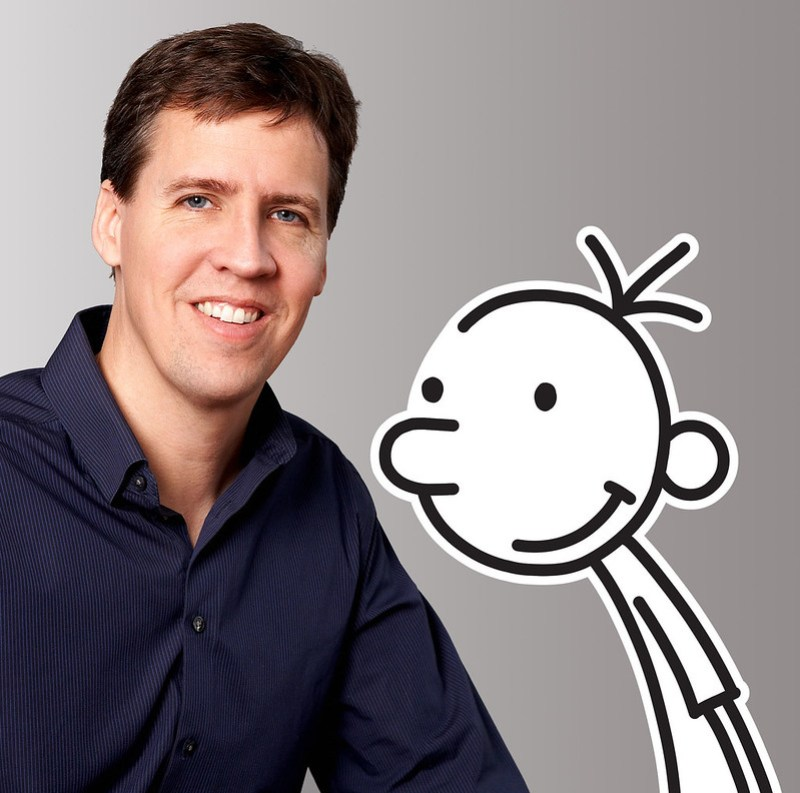 Author Photo - Jeff Kinney