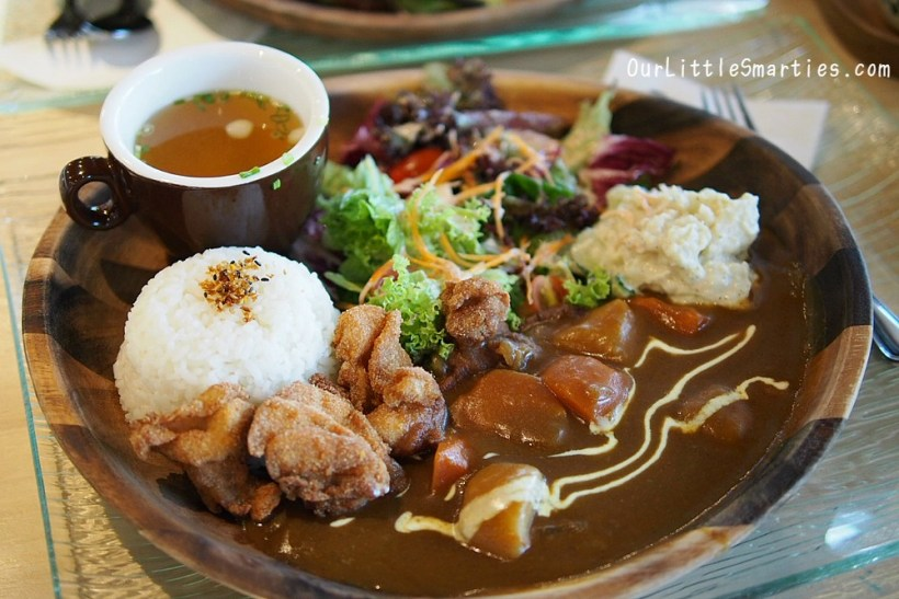Chicken Karaage Curry Set
