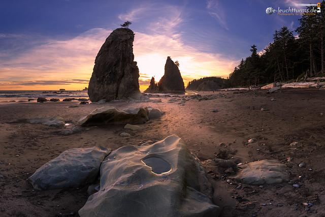 Low tide on Split Rocks #1