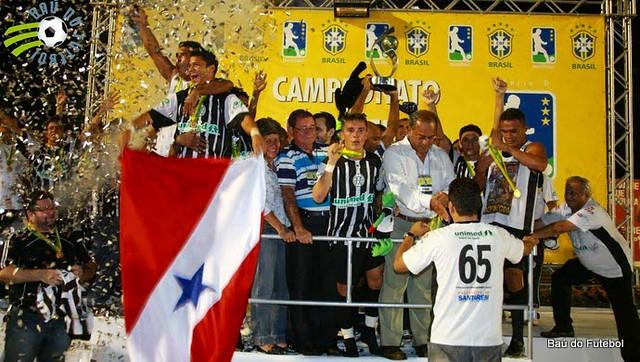 Gol mais importante da história do São Raimundo completa 7 anos, foto 2009 Serie D São raimundo campeão 01