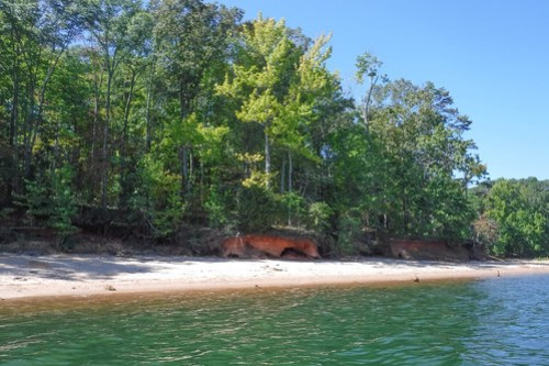 Paddling to Ghost Island in Lake Hartwell-74